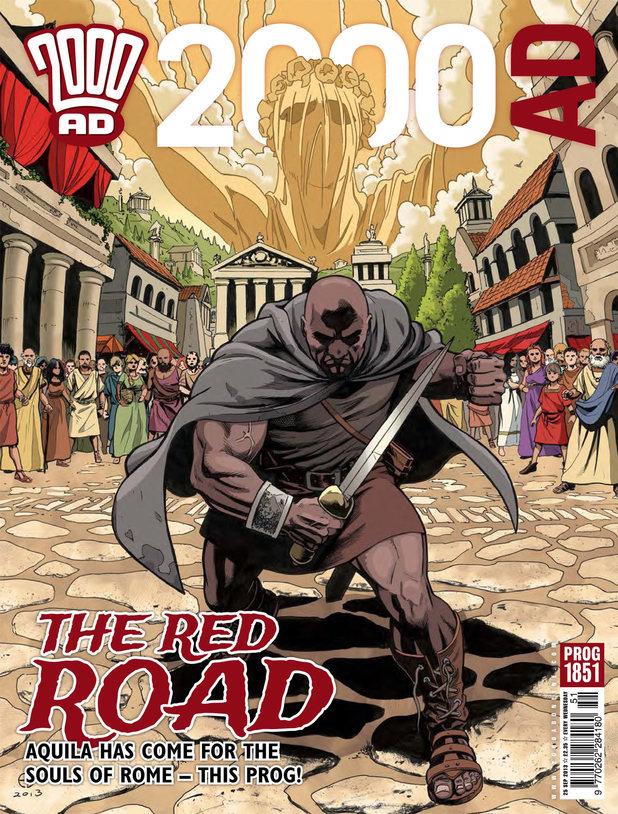'2000 AD' Prog 1851 cover