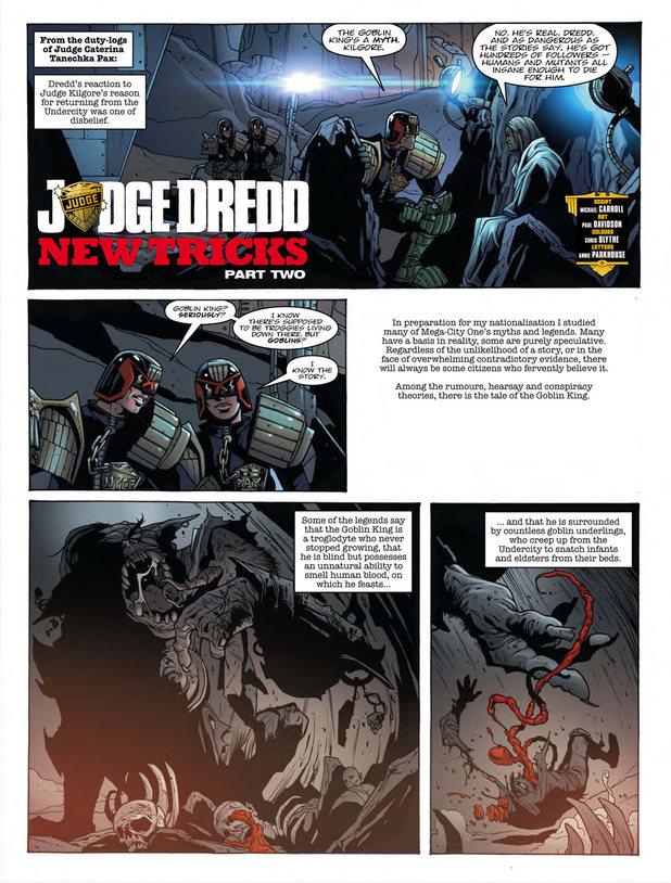 Judge Dredd 'New Tricks'