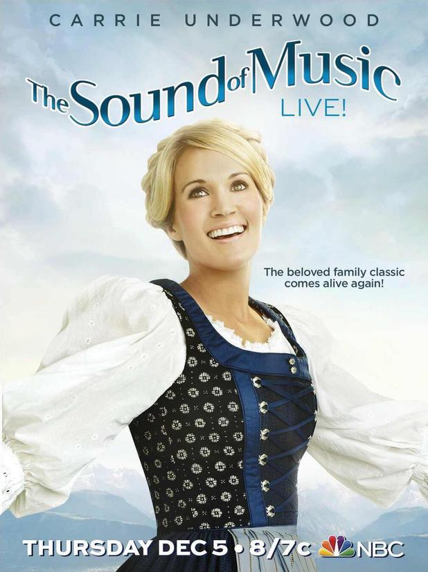 Carrie Underwood in 'The Sound of Music' first poster