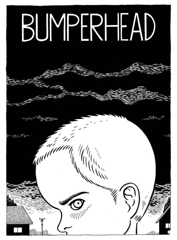 Cartoonist Gilbert Hernandez's 'Bumperhead'.