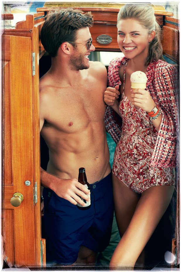 Scott Eastwood in photo shoot for Town & Country