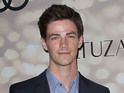 Glee star Gustin will appear in three episodes as the Scarlet Speedster.