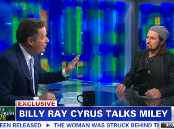 Billy Ray Cyrus on Piers Morgan Tonight