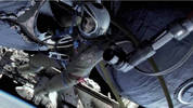 Watch a behind-the-scenes IMAX video for 'Gravity'.