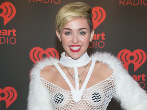 iHeartRadio Music Festival at MGM Grand Garden Arena Las Vegas - Backstage Miley Cyrus