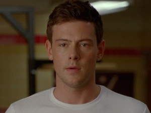 Cory Monteith stars in a deleted scene from 'Glee' season four