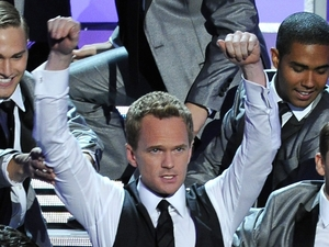 Neil Patrick Harris performs at the Emmy Awards