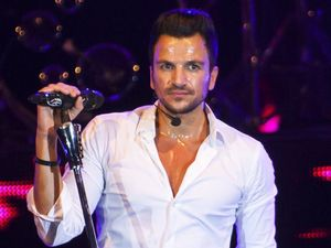 Peter Andre in concert, Peterborough Arena, Britain