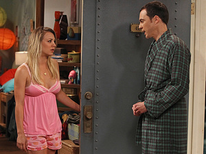 Sheldon and Penny in 'The Hofstadter Insufficiency'