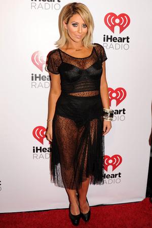 iHeartRadio Music Festival, Las Vegas, America - 21 Sep 2013 Aubrey O'Day