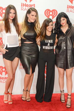 Kendall Jenner,Khloe Kardashian,Kourtney Kardashinan,Kylie Jenner iHeartRadio Music Festival