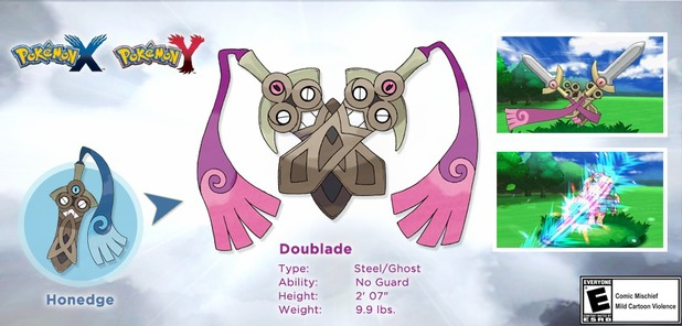 Pokemon X and Y: new evolution revealed