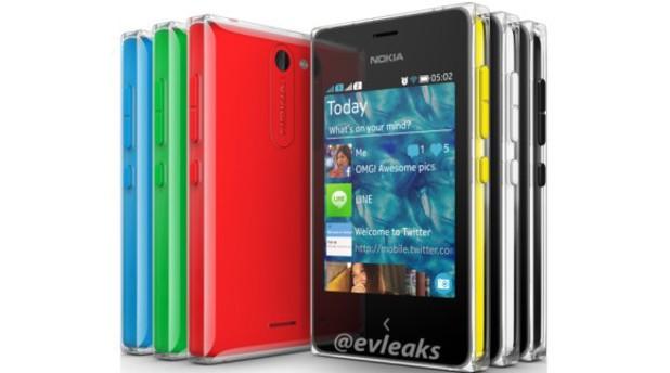 Nokia Asha 502 leak
