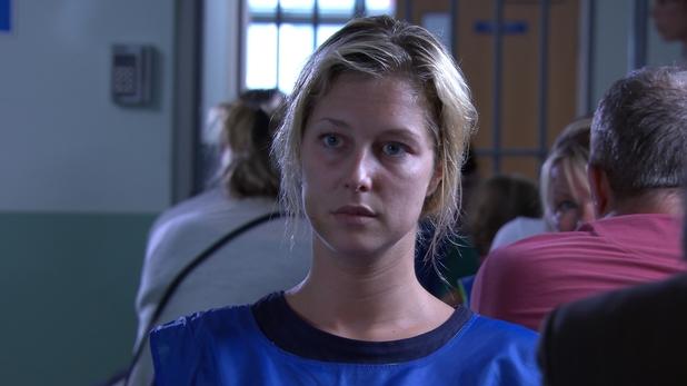 Clare Devine in prison