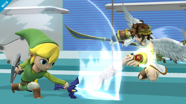 'Super Smash Bros.' Toon Link screenshot