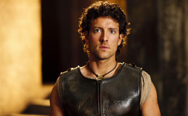 Jack Donnelly as Jason in 'Atlantis' episode 1