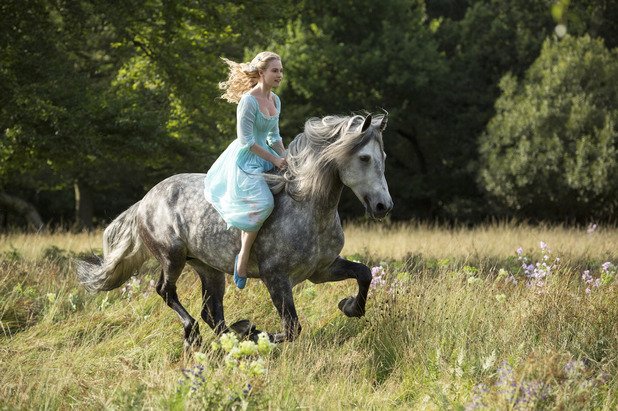 'Cinderella' first look image: Lily James