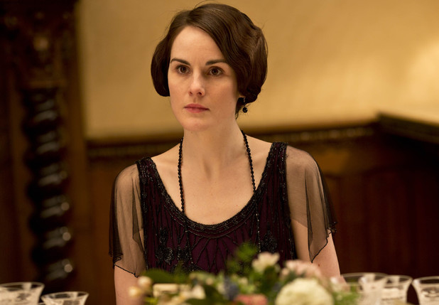 Lady Mary isn't impressed.