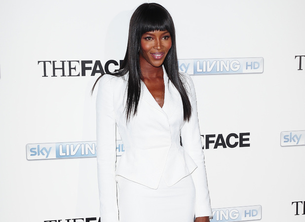 Naomi Campbell arrives at the launch of new tv show The Face