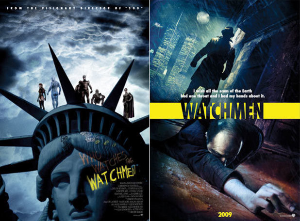 Unused poster for 'Watchmen'