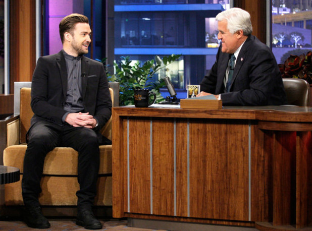 Justin Timberlake on The Tonight Show with Jay Leno