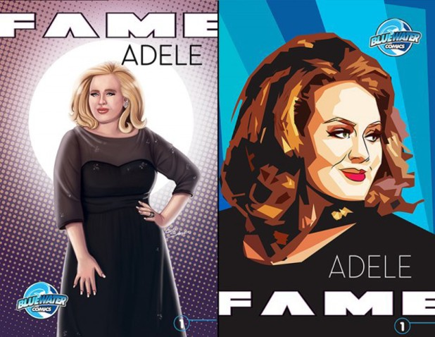 Adele comic cover