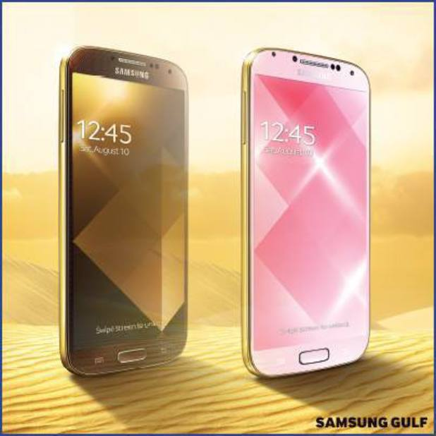 Samsung Galaxy S4 gold models