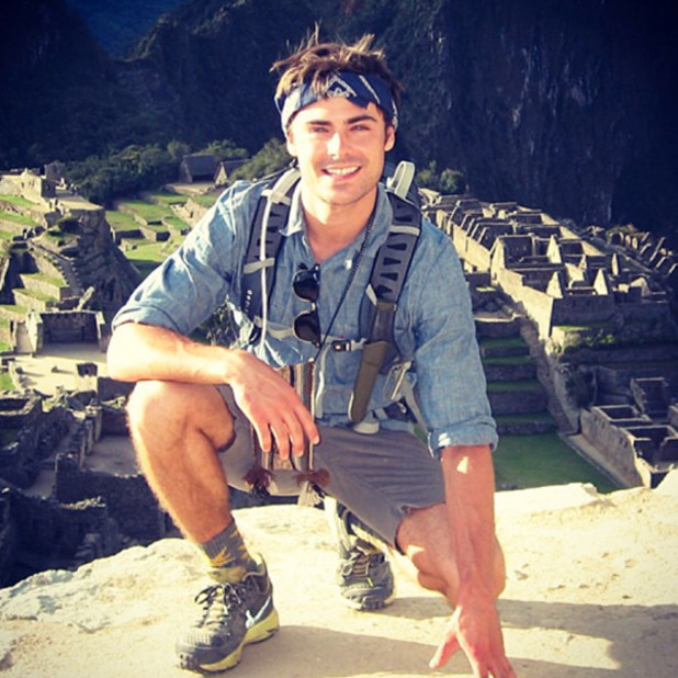 Zac Efron in Peru