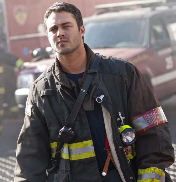 Taylor Kinney in his 'Chicago Fire' outfit