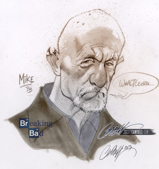 J Scott Campbell's Mike Ehrmantraut