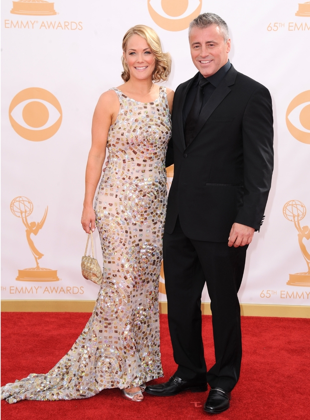 2013 Primetime Emmy Awards: Matt LeBlanc and Andrea Anders