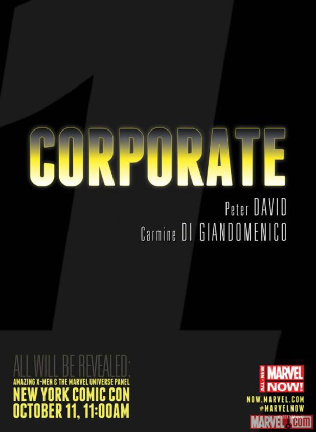 Peter David's 'Corporate' teaser
