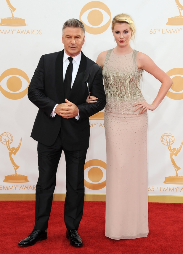 2013 Primetime Emmy Awards: Alec and Ireland Baldwin