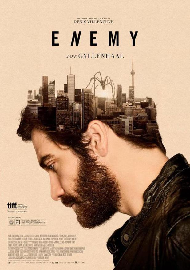 Jake Gyllenhaal's 'Enemy' poster