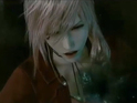 Gameplay footage shows a player dressed as the Final Fantasy VII character.