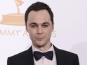 Jim Parsons sings a monologue about Sheldon Cooper as part of a SNL skit.