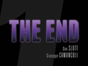 The publisher releases a teaser for the title bearing the caption 'The End'.