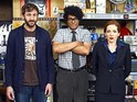 The IT Crowd is a remake from Scrubs creator Bill Lawrence.
