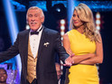 The Strictly Come Dancing host denies Forsyth to blame for show overrunning.