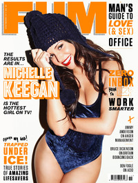 Michelle Keegan on the cover of FHM magazine