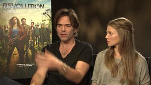 Stars talk Revolution season one
