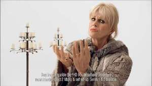 Sky: Joanna Lumley stars in 'Game of Thrones' On Demand advert