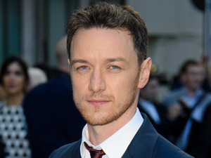 James McAvoy on the 'blue' carpet for the UK premiere of 'Filfth' held at Odeon West End, London