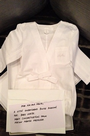 North West's gifts from Margiela