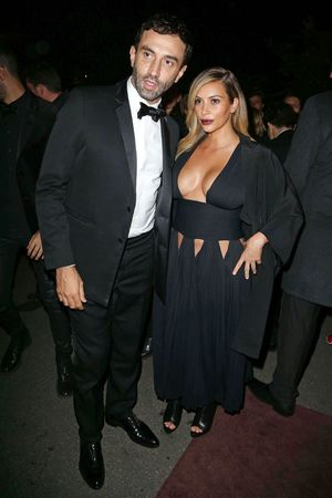 'Mademoiselle C' film screening after party, Paris, France - 01 Oct 2013 Riccardo Tisci and Kim Kardashian 1 Oct 2013