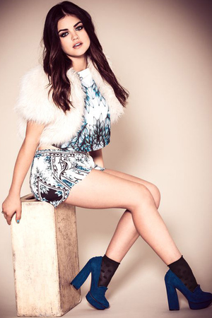 Lucy Hale photoshoot for Company magazine