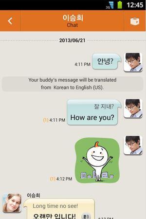Samsung's ChatON mobile app
