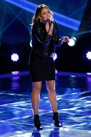 The Voice - blind auditions episode 3: Lina Gaudenzi