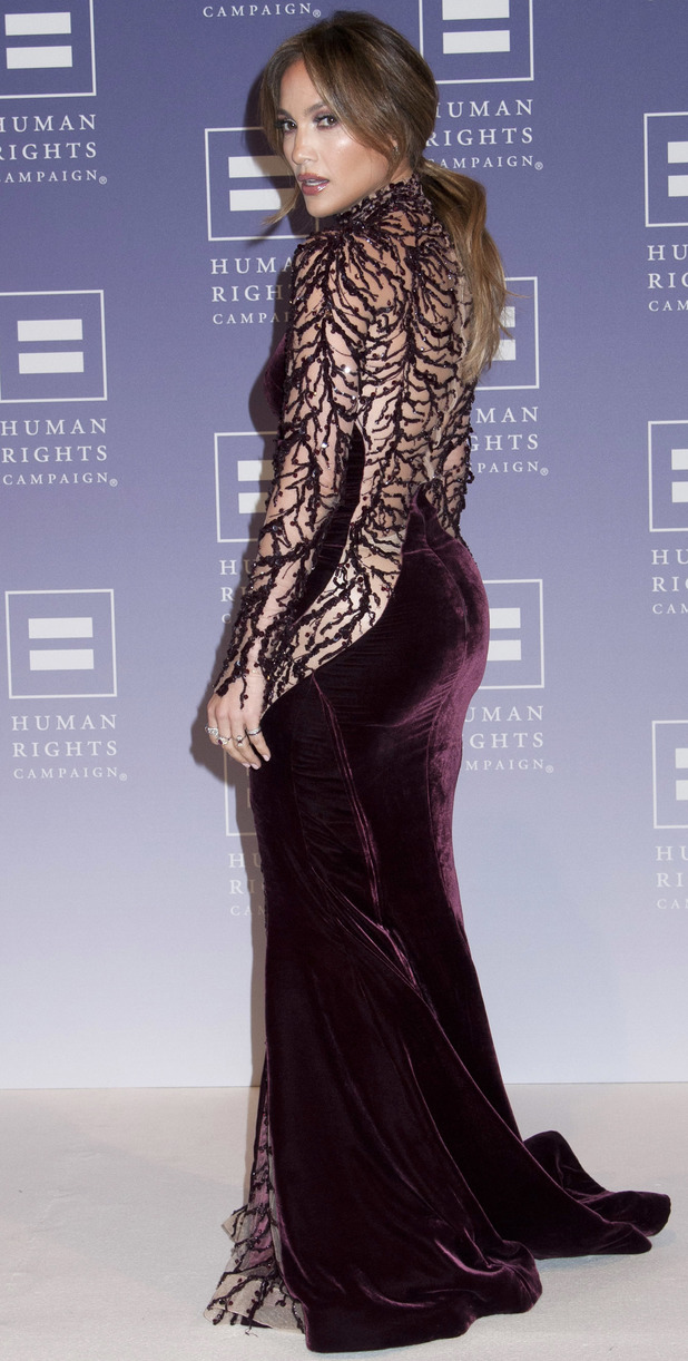 Jennifer Lopez Honored at 2013 HRC National Dinner