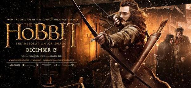Luke Evans as Bard the Bowman in 'The Hobbit: The Desolation of Smaug'